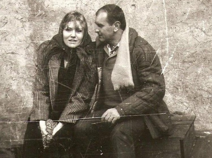 Рис.1 Анна Герман с мужем Збигневым