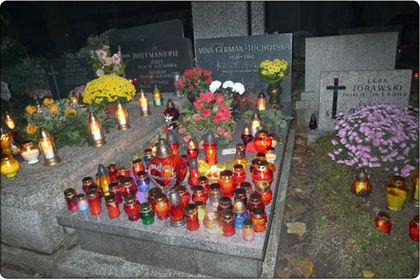 Рис.2 Могила Анны Герман в Варшаве