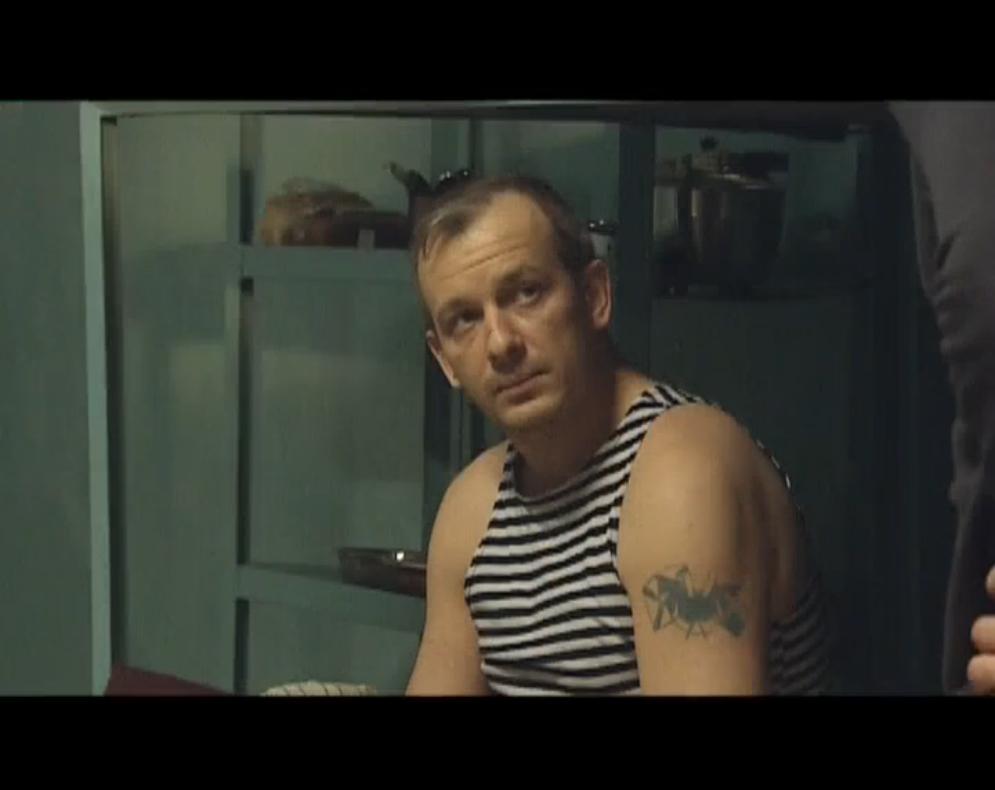 Рисунок 2. В роли Немого. Сериал «Боец».