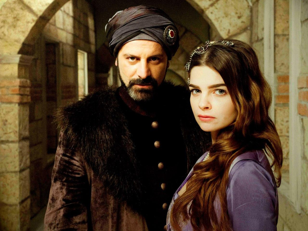 Рисунок 2. Рустем-паша и Михримах-султан