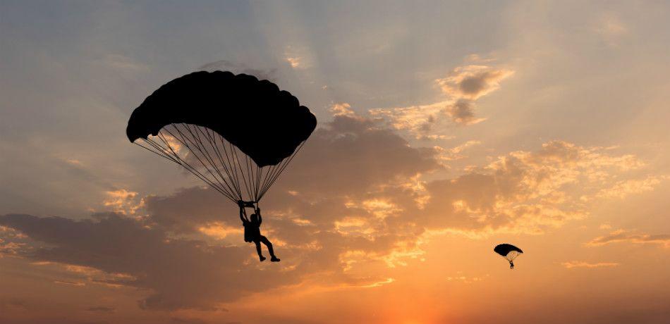 Рисунок 1. Смерть артиста стала последствием пристрастия к парашютному спорту