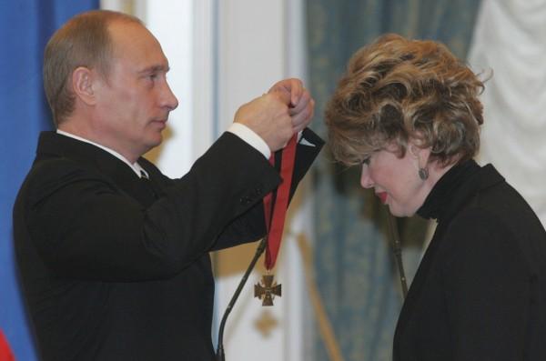 Рисунок 1. Заслуженная награда полученная из рук президента РФ В. В. Путина