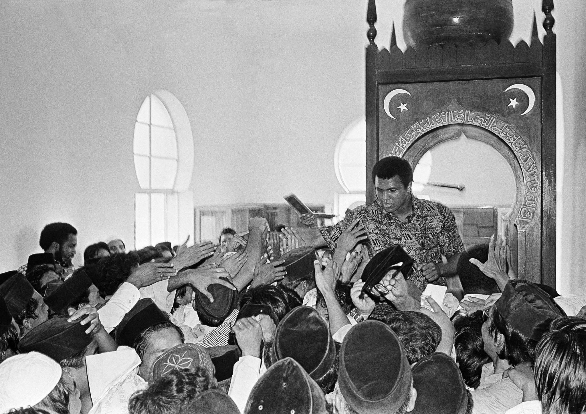 Рисунок 3. В мечети.