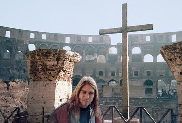 Рисунок 4. В Риме.