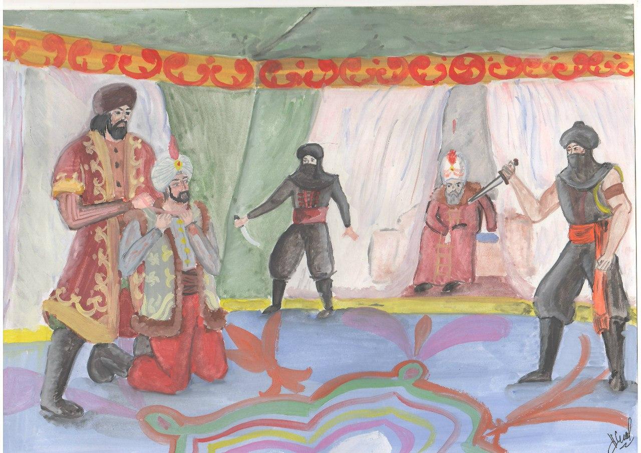 Рисунок 1. Убийство шехзаде