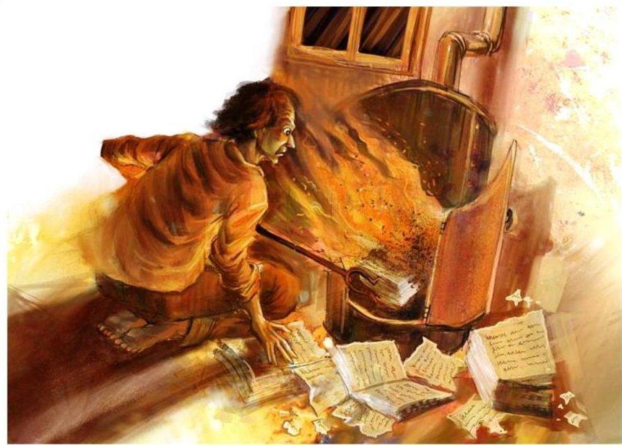 Рисунок 1. Так Николая Васильевич лишает нас возможности узнать, что было во второй части «Мёртвых душ»