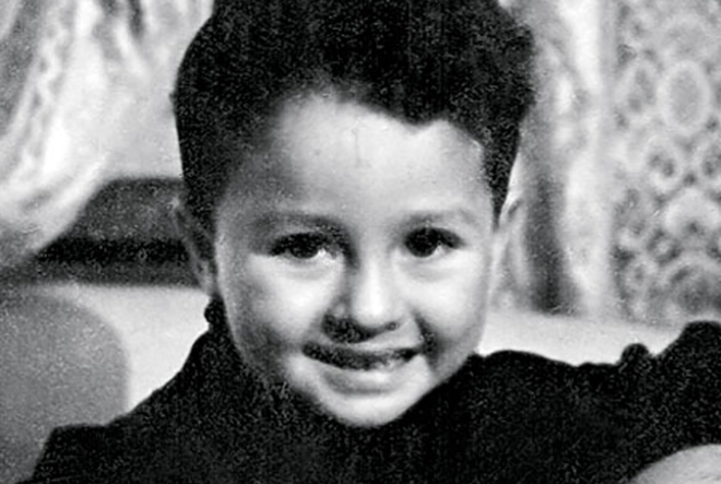 Рисунок 1. В детстве.