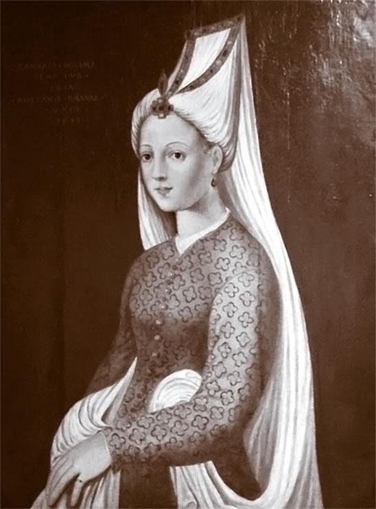 Рисунок 3. Один из портретов Михримах.