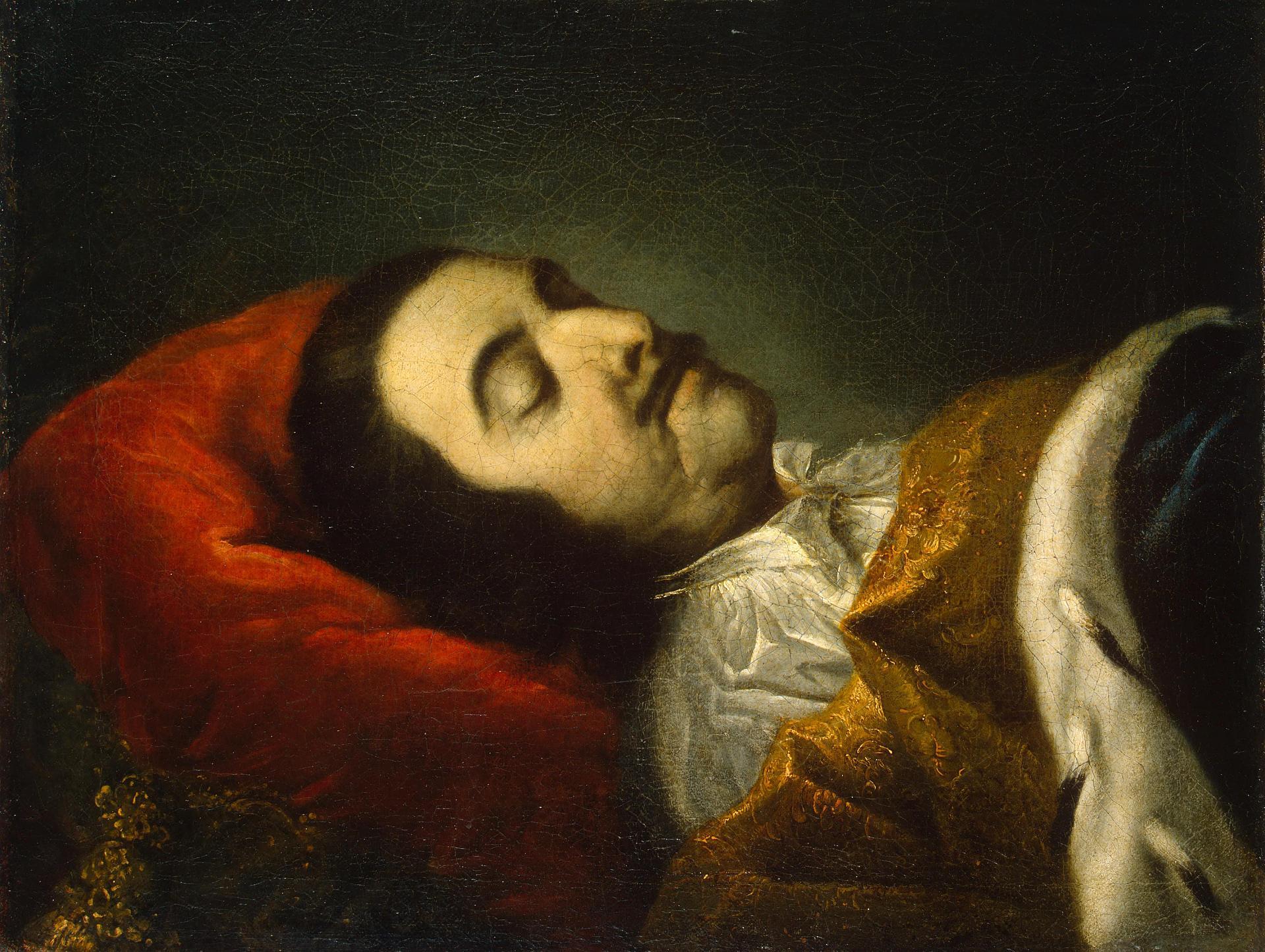 Рисунок 2. Петр на смертном одре