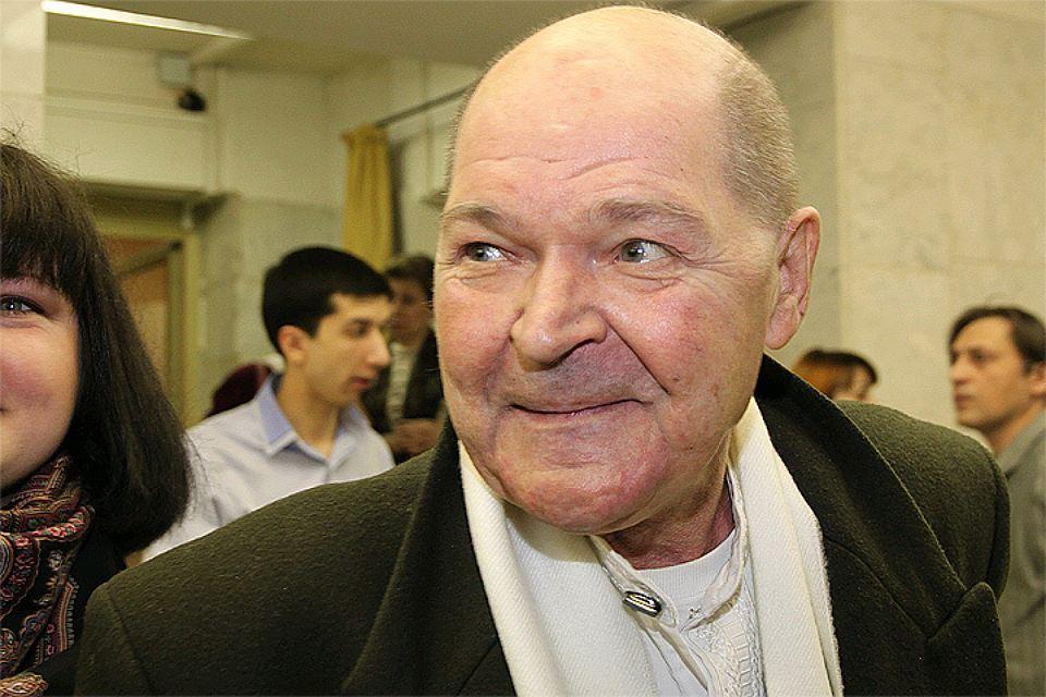 Рисунок 2. Актер Алексей Жарков в последние годы