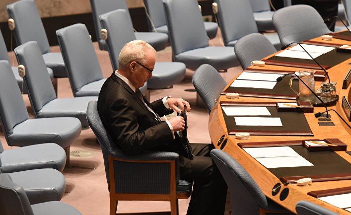 Рисунок 4. Поле одного из заседаний ООН.