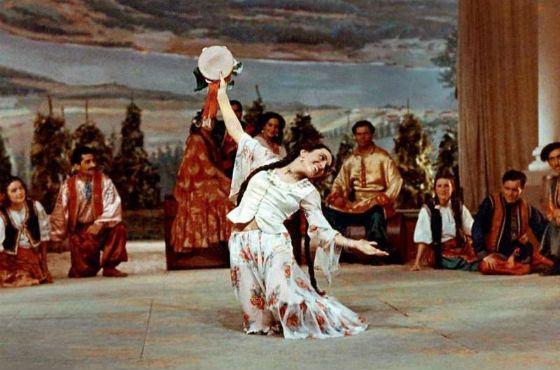 Рисунок 4. Вторая жена Баталова, Гитана
