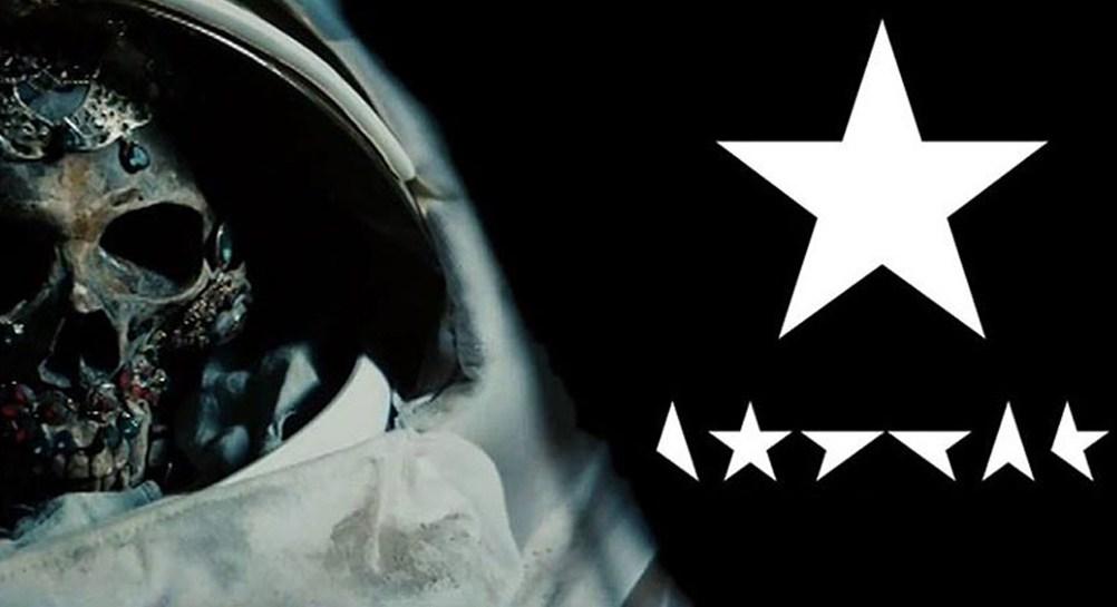 Рисунок 4. Образ мертвого космонавта в клипе на песню «Blackstar».