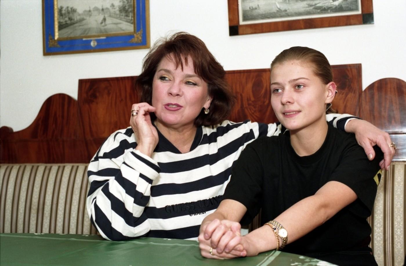 Рисунок 3. С дочерью Марией Голубкиной