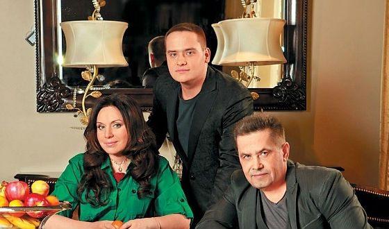 Рисунок 5. Вместе с женой Натальей и сыном Николаем.