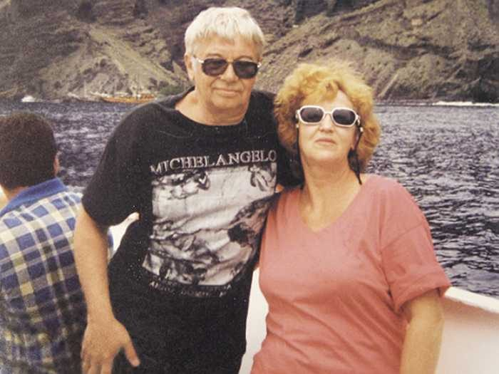 Рисунок 5. С женой Людмилой