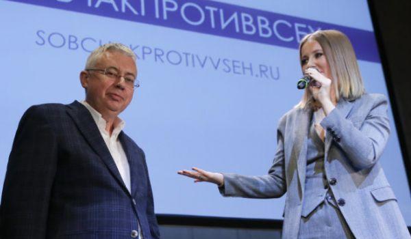 Рисунок 1. В 2018 г. помогал Ксении Собчак в президентской гонке