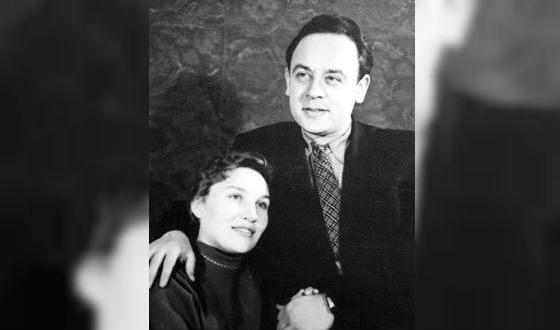 Рисунок 2. Леонид Броневой в молодости (с первой супругой).