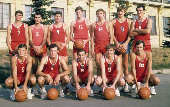 Рисунок 2. Сборная Советского Союза по баскетболу (Белов № 14)