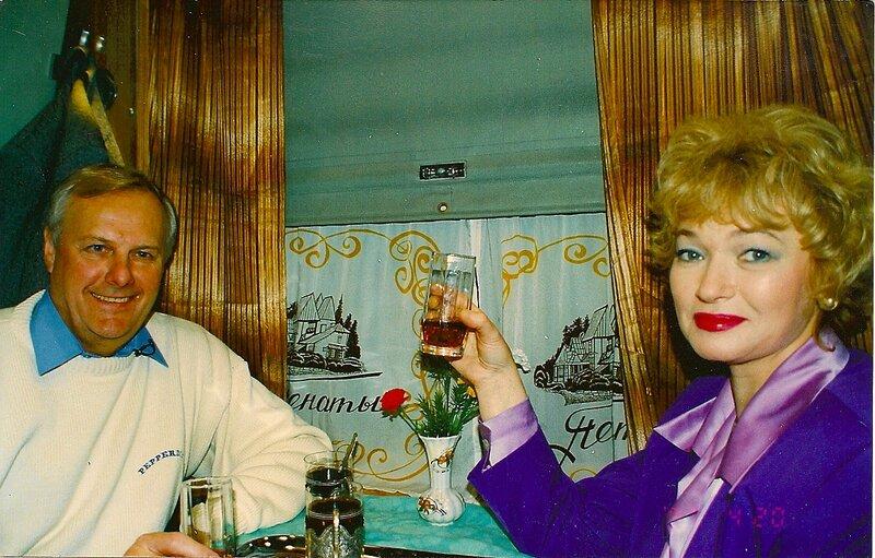 Рис.2 Анатолий Собчак с супругой, Людмилой Нарусовой