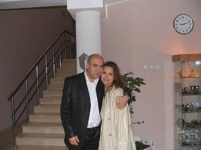 Рисунок 4. Ян Арлазоров с дочерью Алёной