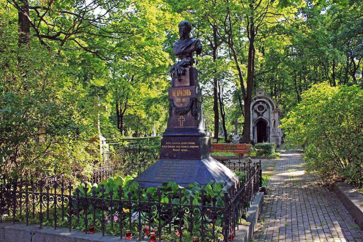 Рисунок 3. Могила на Новодевичьем кладбище