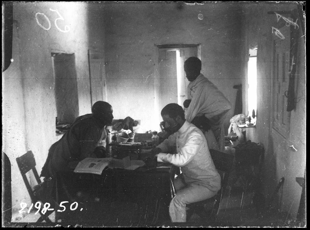 Рисунок 3. Н. Гумилёв в Абиссинии