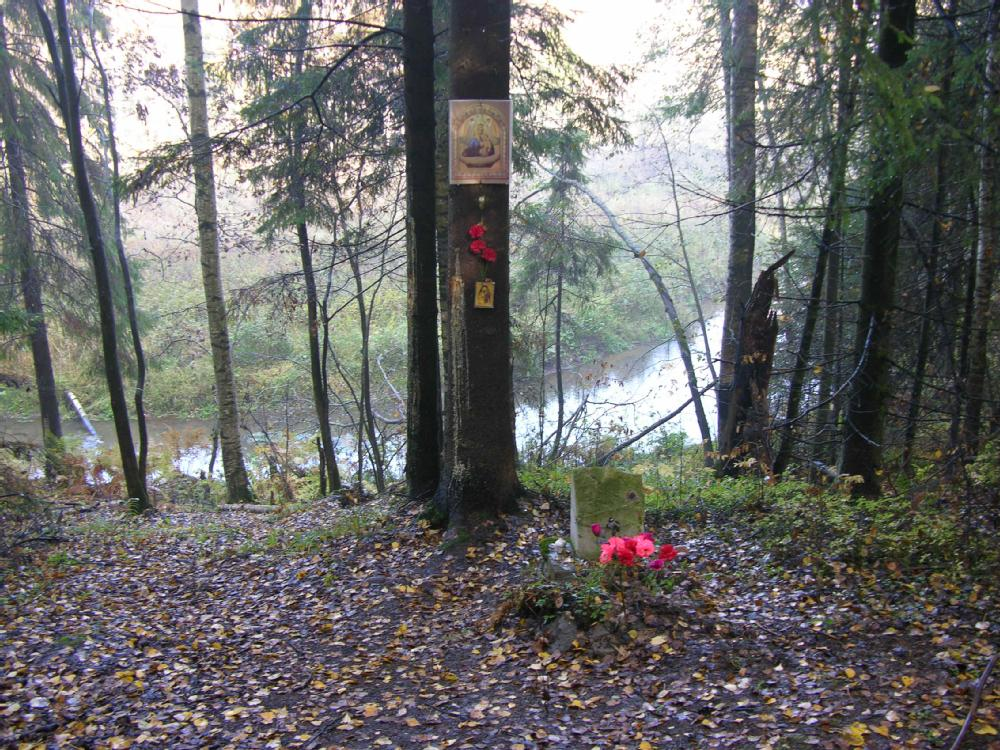 Рисунок 1. Предполагаемое место казни в Ковалёвском лесу