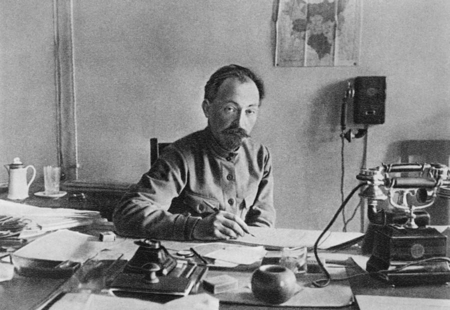 Рисунок 1. Ф. Э. Дзержинский – один из наиболее значимых деятелей эпохи становления Российской Советской Республики