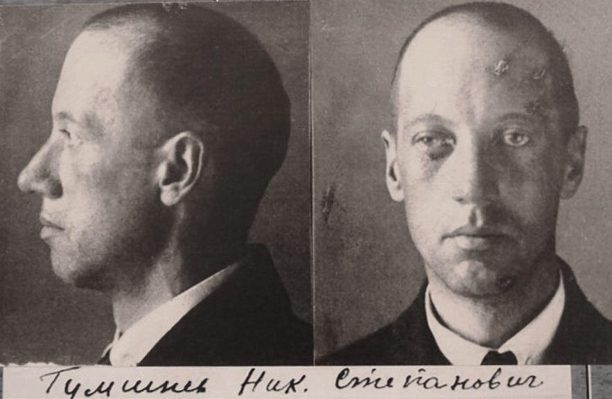 Рисунок 2. Фото арестованного Гумилева 1921 года, из дела