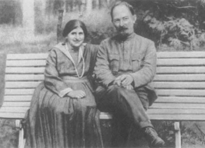 Рисунок 4. С женой С. С. Мушкат