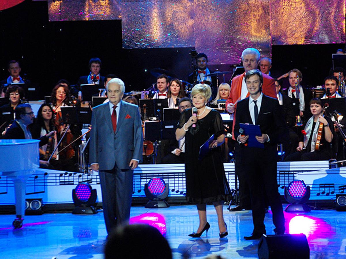 Рисунок 2. Юбилейный концерт к 75-летию Евгения Крылатова, 2009 г.