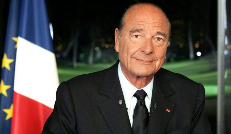 Жак Ширак (29.11.1932 – 26.09.2019)