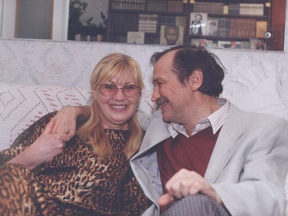 С женой Ниной Шацкой