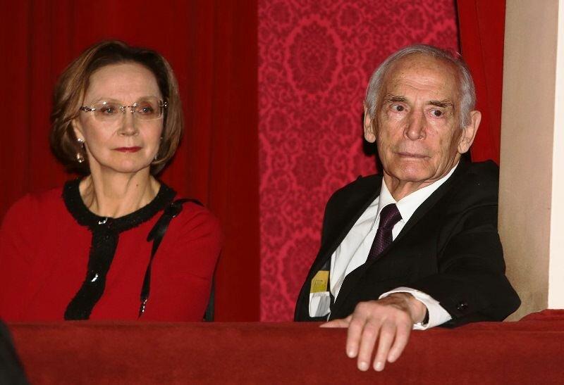 С супругой Ириной Кученко
