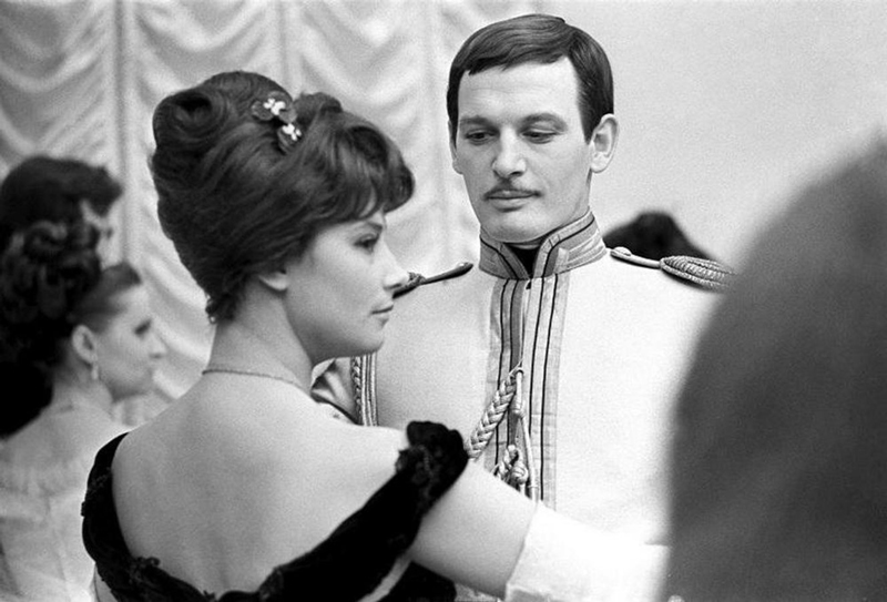 Совместная роль с первой супругой Татьяной Самойловой.
