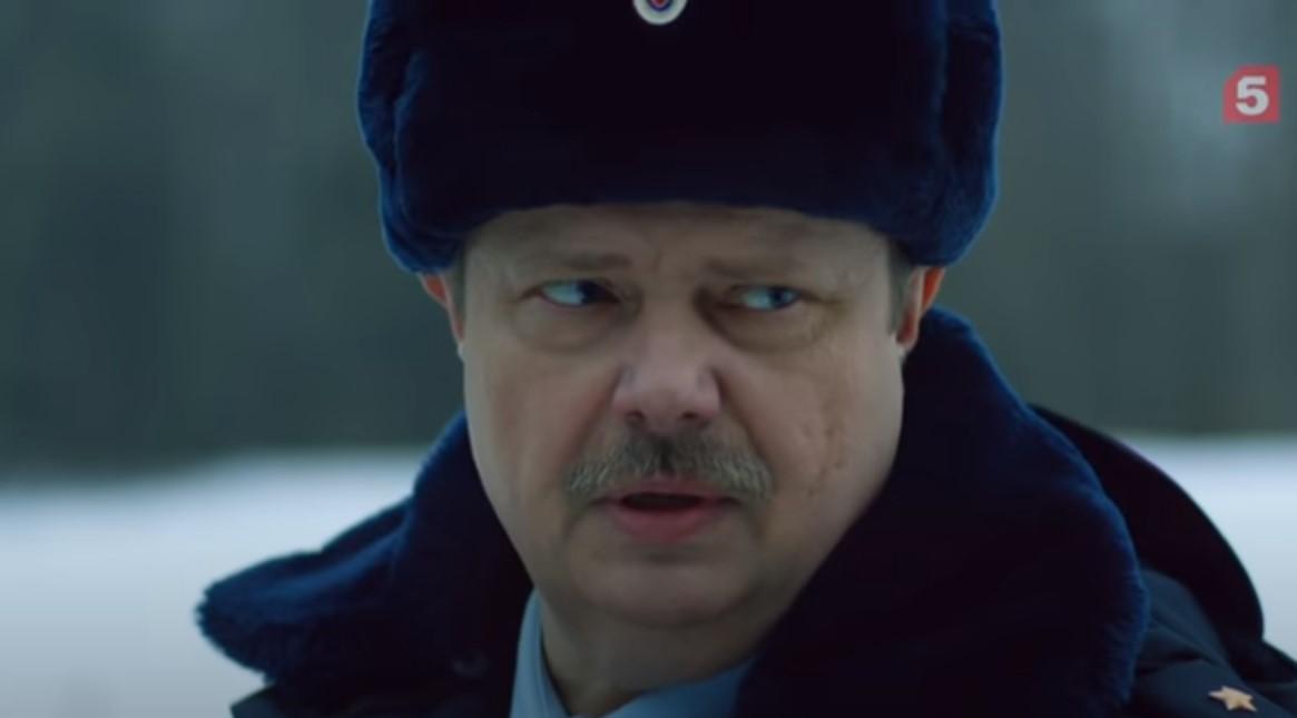 Кадр из эпизода «Звуки музыки», полковник Когтеев