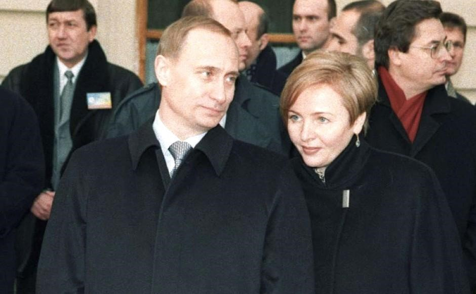 с Людмилой в 1996 г.