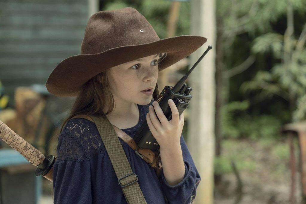 Джудит в ковбойской шляпе. Кадр из сериала