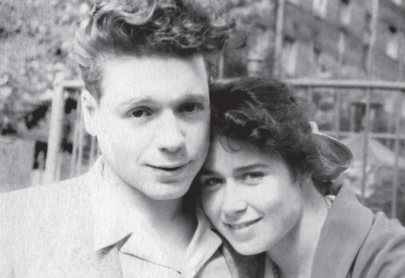 Радзинский с женой